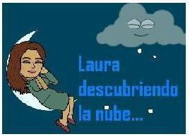 laura descubriendo la nube...